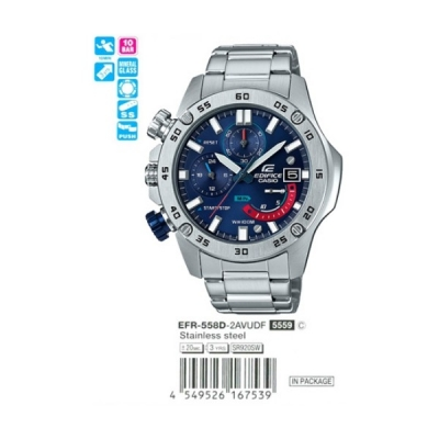ZEGAREK CASIO EDIFICE EFR-558D-2AVUEF