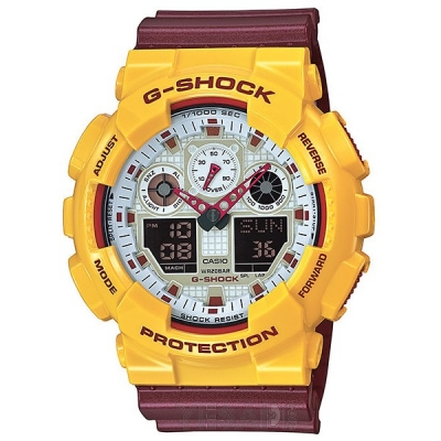 ZEGAREK CASIO G-SHOCK GA-100CS-9AE